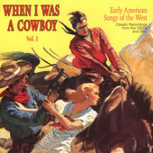1 of 1 - Various Artists - When I Was a Cowboy 1 / Various [New CD]