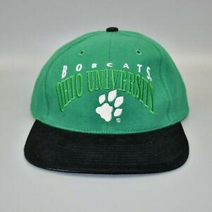 Ohio-Bobcats-NCAA-Vintage-90-039-s-Twins-Enterprise-Strapback-Cap-Hat-NWT