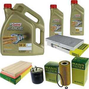 Inspektionskit-filtre-Castrol-7-L-Huile-5w30-pour-MERCEDES-BENZ-A-Classe-w169