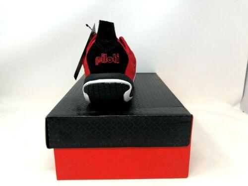 NEW Piloti Men/'s Spyder-S1 Driving Shoes Red//Black R32,33,34