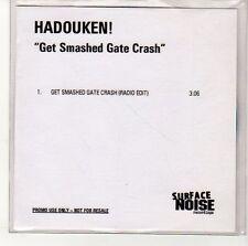 (EN467) Hadouken! Get Smashed Gate Crash - DJ CD