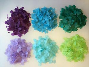 Biologisch Abbaubares Konfetti Lila Blau Grun Tischdeko Hochzeit