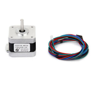 nema 17 3d printer two phase 4 wire stepper motor for 1 8deg image is loading nema 17 3d printer two phase 4 wire