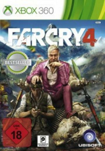 Xbox 360 Far Cry 4 Deutsch Neuwertig