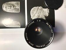Admiral 3 (2,8) 55mm 1:1 macro Canon FD (Vivitar Soligor) sehr schön Sony Leica
