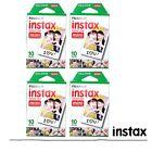 40PCS Fujifilm Instax Mini White Film For Mini 8 Plus 90 25 7s 70 SP-1 US
