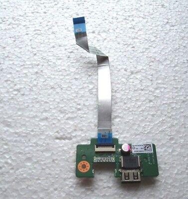 GRD A DABD9TB18E0 34BD9UB0000 GENUINE TOSHIBA USB BOARD W// CABLE C75D CA49