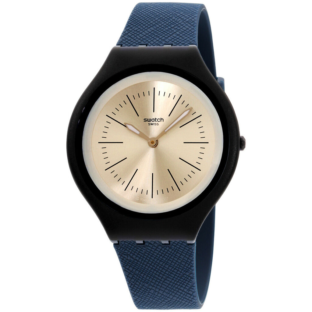 Swatch Skin Saphira Quartz Movement Silver Dial Men's Watch SVUN106 | Ebay