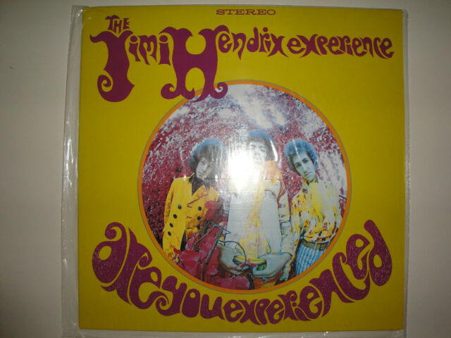 The Jimi Hendrix Experience: Are You Experienced (Stéréo) Vinyle LP, Us-Pressung