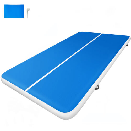 3x2M Air Track home sol gymnastique Tumbling Tapis Gonflable Gym pom-pom girls