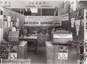 Machines-a-cafe-Juvara-Victoria-Arduino-Foire-Europeenne-Strasbourg-1952