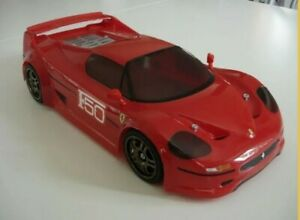 Carrozzeria-body-RC-scala-1-10-Ferrari-F50-decals-adesivi