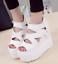 Womens-High-Platform-Peep-Toe-Hidden-Wedge-Heel-Sandals-Hollow-Out-Roman-Shoes thumbnail 4