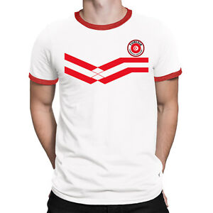 TUNISIA World Cup 2018 Mens T-Shirt FOOTBALL New Style Retro   eBay dae5a2dc82c0