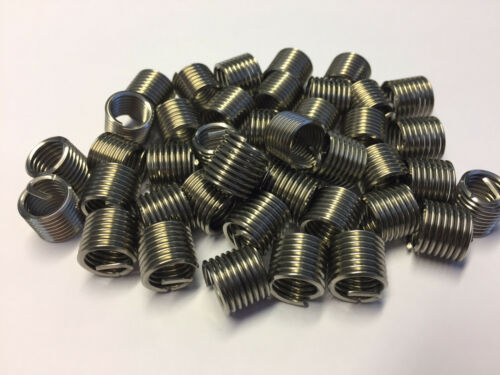 QTY 10 M3 X 6mm HELICAL WIRE THREAD REPAIR INSERTSF//RUNNING STAINLESS 2D