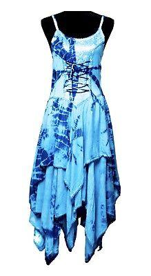 fairy corset dodice handkerchief hem dress  ebay