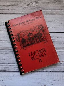 Vintage North United Methodist Church Cookbook North South Carolina 1983