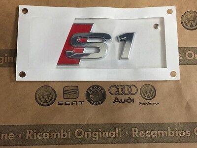 Original Audi S1 Schriftzug Audi S1 Emblem Heckklappe