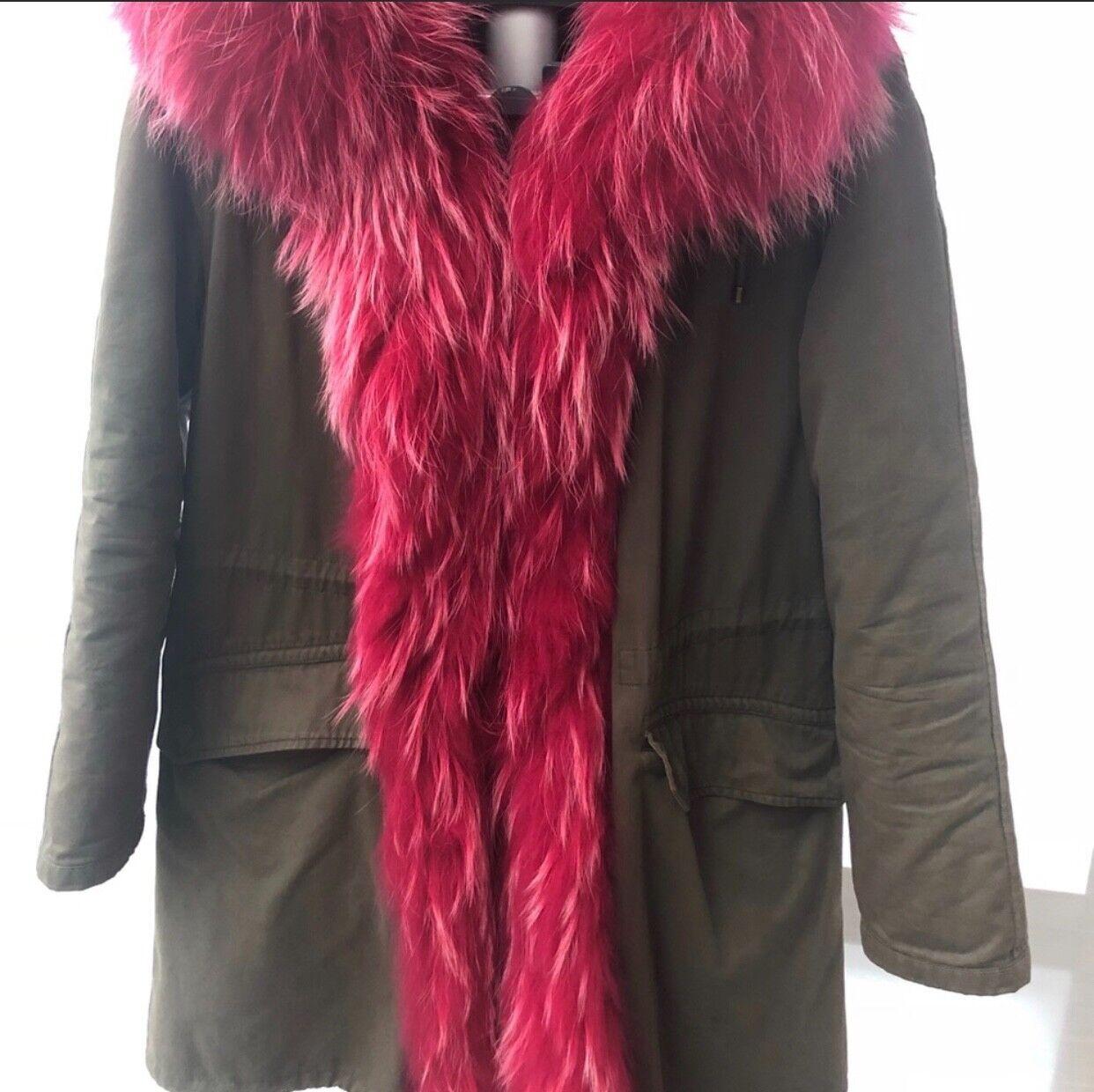 Army by Yves Salomon Pink Fur Parka retail  3,300 3,300 3,300 68ff20