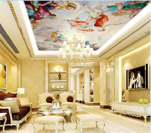 Karlskirche Dome Sky Full Wall Ceiling Mural Photo Wallpaper Print Home 3D Decal
