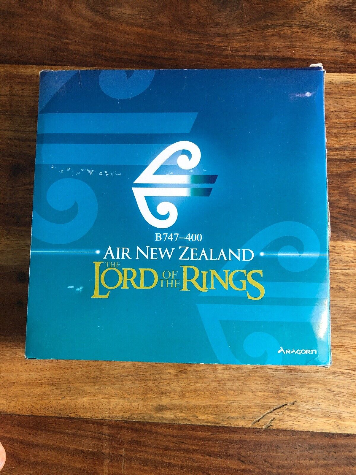Boeing 747-400  Air New Zealand The Lord Of The Rings Aragorn