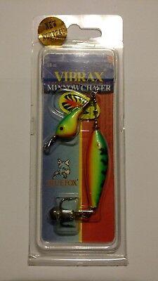 BLUE FOX VIBRAX MINNOW CHASER SPIN 1//2oz Color-FireTigr Item# MC-5FT NIP Spinner
