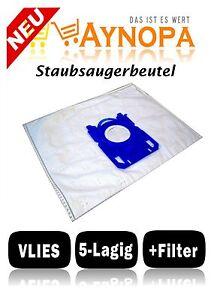 8136 //01 EasyLife 10x Staubsaugerbeutel geeignet Philips FC 8130 //01 8135//01