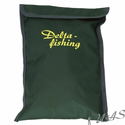 DELTA FISHING Top XL Karpfen Sack Wiege Sack Hälter Sack Schonendes Netz Kva