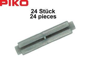 Piko-H0-55291-Isolier-Schienenverbinder-24-Stueck-NEU-OVP