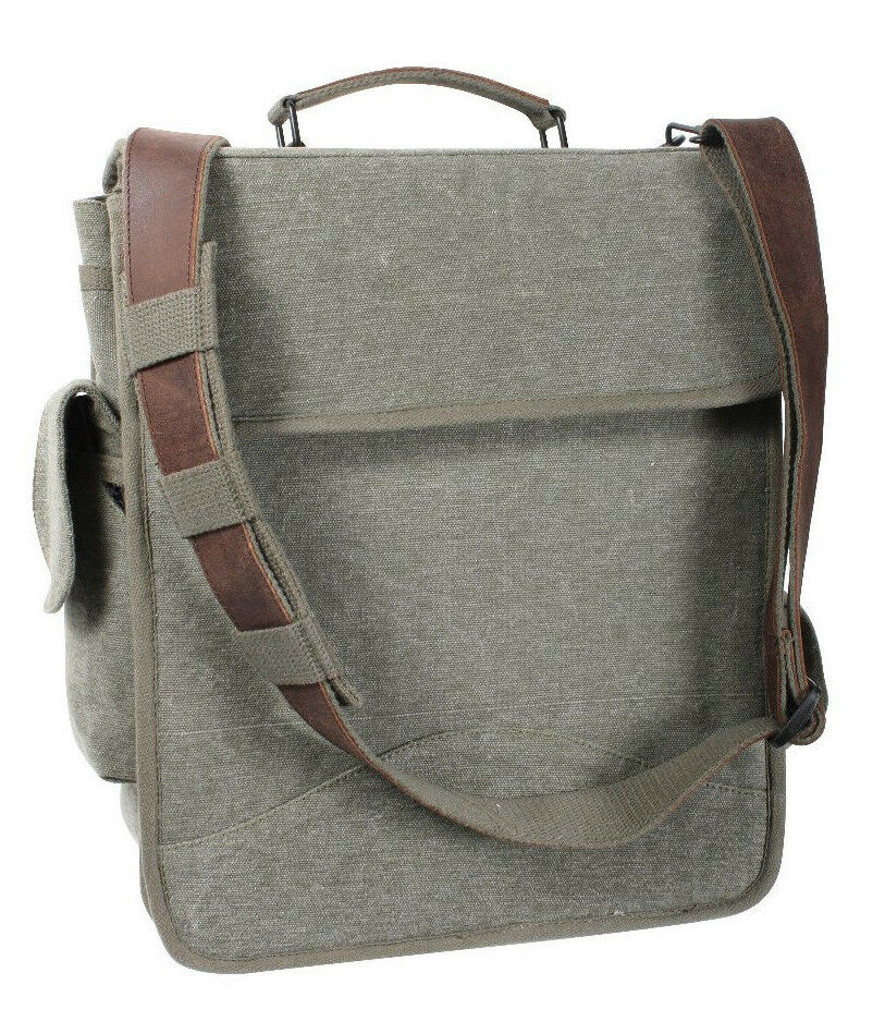 Tasche Tasche Tasche Vintage Engineers m-51 Leder Akzente Olive Farblos Rothco 8626 | Outlet Online