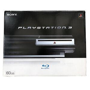 En Caja Sony PlayStation 3 Consola compatible, regulador, juego conduce &