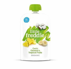 Contemplatif Little Freddie Exotique De Noix De Coco Et Fruits Tropicaux 100 G (pack De 6)-afficher Le Titre D'origine