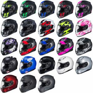 HJC-CL-17-Full-Face-Motorcycle-Street-Helmet-DOT-amp-Snell-Pick-Size-Color