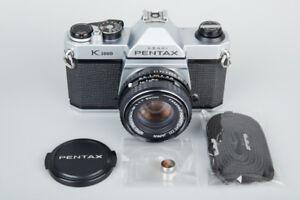 Pentax-K1000-35mm-SLR-Film-Camera-w-SMC-Pentax-M-50mm-f-1-7-f1-7-Lens-PK-Mount