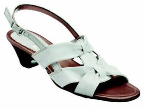 Piazza Sandaletten Sandalen Leder Damenschuhe weiß Gr. 36-42 710219 Neu24