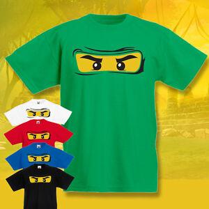 Kids-Ninjago-T-shirt-Lego-Tee-childrens-Fun