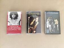 Vintage The Doors Assorted Cassette Tape Lot