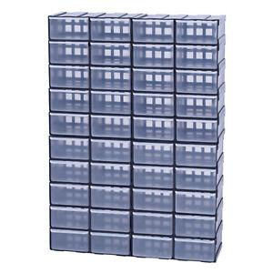 Box-Kiste-Sortierkasten-Sortimentsbox-Organizer-Sortimentskasten-x40