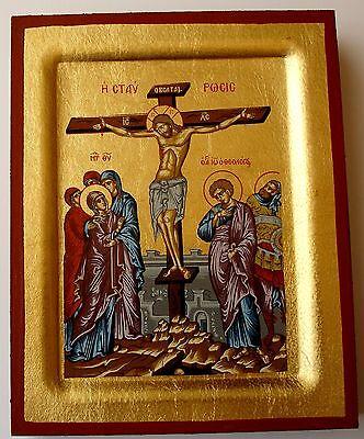 Analytisch Miniatur Ikone Kreuzigung Jesus Crucifixion Icon Icone Crocifissione икона Icono Fortgeschrittene Technologie üBernehmen