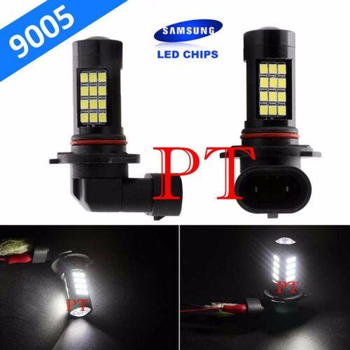 9005-HB3 Samsung LED 42 SMD Super White 6000K Headlight Xenon Light Bulb Hi Beam