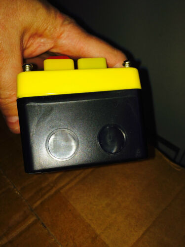 No Volt Release NVR Stop//Start /& Emergency Stop Switch