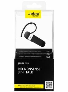 Details about Jabra Talk Bluetooth Headset with HD Voice Technology -  Retail Packaging - Black