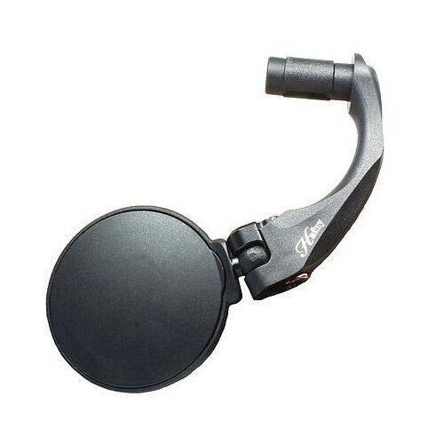 Hanfy FR02 Adjustable Bar End Mirror Handlebar Bike Stainless or Auto Glass Lens
