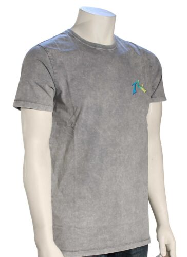 New Rusty TV Screen SS T-Shirt Stone Grey