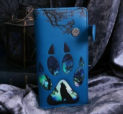 Wolf Footprint Wallet Paw Gothic Black Nemesis Now Alternative Howling Gift