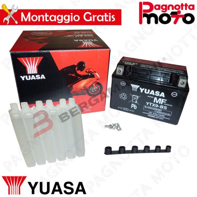 BATTERIA YUASA YTX9-BS SUZUKI GSF BANDIT 400 1991>1993