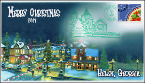 Helen Ga Christmas.Details About 17 399 2017 Merry Christmas Helen Ga Christmas Pictorial Event Cover