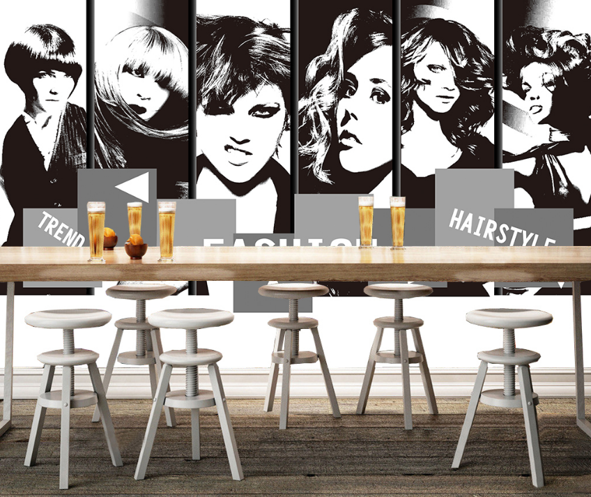 3D Woman Paint 4062 Wallpaper Murals Wall Print Wallpaper Mural AJ WALL UK Carly