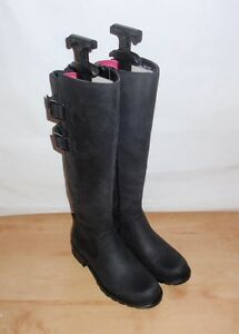 4170675b896a Image is loading NEW-Clarks-womens-ORINOCO-TANGO-black-leather-knee-