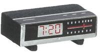 Clock Radio, Dolls House Miniatures, Bedroom Accessory, Alarm Clock Digital